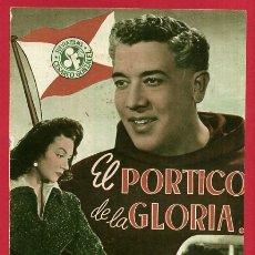Cinéma: GUIA CINE, EL PORTICO DE LA GLORIA , TIPO REVISTA , ORIGINAL , G1566. Lote 164503282