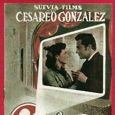 Cinéma: GUIA CINE, HECHIZO TRAGICO , TIPO REVISTA , ORIGINAL , G1572. Lote 164509374