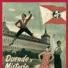 Cinema: GUIA CINE, DUENDE Y MISTERIO DEL FLAMENCO , TIPO REVISTA , ORIGINAL , G1574. Lote 164510510