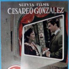 Cinema: GUIA CINE, DE MADRID AL CIELO , TIPO REVISTA , ORIGINAL , G1563. Lote 164518874