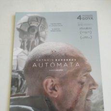 Cine: AUTOMATA GUIA PUBLICITARIA ORIGINAL DE CINE. Lote 165615032