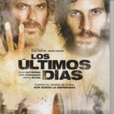 Cine: LOS ÚLTIMOS DÍAS. Lote 165712014