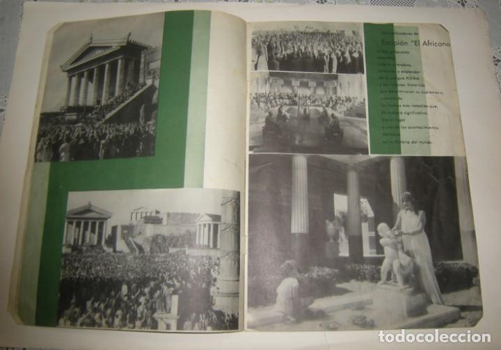 Cine: ESCIPION EL AFRICANO. JUCA FILMS,S.A. AÑO 1937 GUIA DE LA PELICULA VER FOTOS. - Foto 3 - 166058842