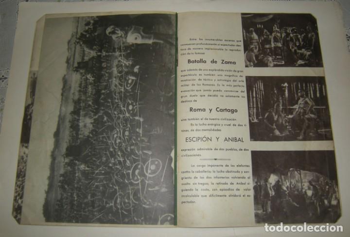 Cine: ESCIPION EL AFRICANO. JUCA FILMS,S.A. AÑO 1937 GUIA DE LA PELICULA VER FOTOS. - Foto 6 - 166058842