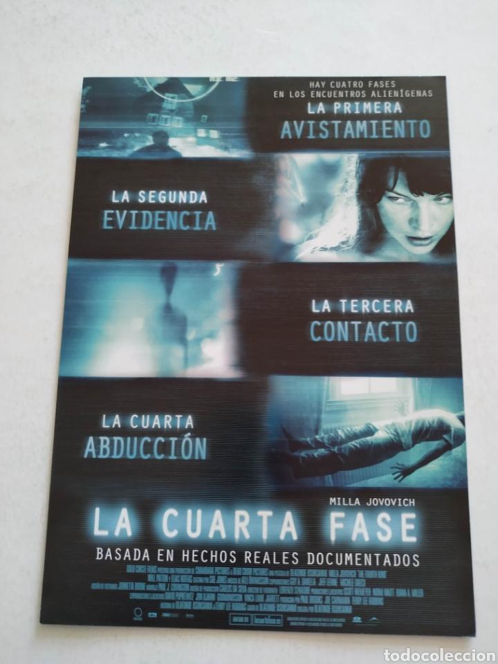 LA CUARTA FASE Guia Publicitaria Original de Cine