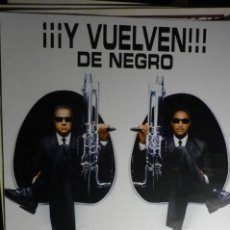 Cine: GUIA DOBLE MIIB HOMBRES DE NEGRO - WILL SMITH. Lote 168328544