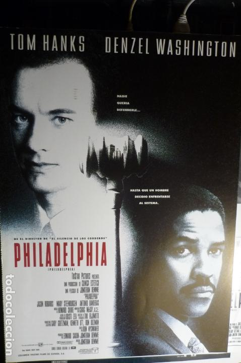 Cine: guia doble philadelphia -tom hanks - Foto 1 - 168329280