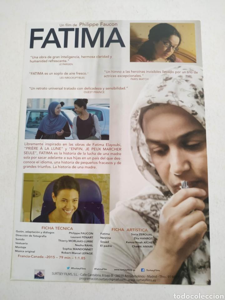 Cine: FATIMA Guia Publicitaria Original de Cine - Foto 2 - 167641784