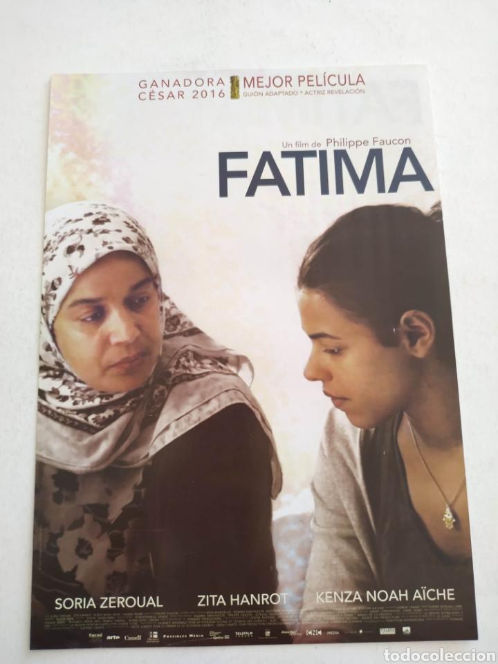 FATIMA GUIA PUBLICITARIA ORIGINAL DE CINE (Cine - Guías Publicitarias de Películas )