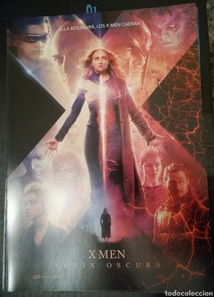 X-MEN FENIX OSCURA GUÍA PUBLICITARIA (Cine - Guías Publicitarias de Películas )