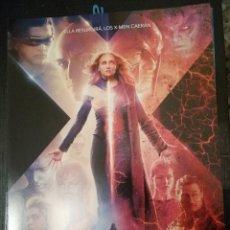 Cine: X-MEN FENIX OSCURA GUÍA PUBLICITARIA. Lote 168685794