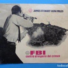 Cine: FBI CONTRA EL IMPERIO DEL CRIMEN - JAMES STEWART, VERA MILES, MERVIN LEROY - AÑO 1959. Lote 168732956