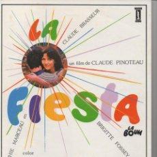 Cine: LA FIESTA. Lote 168801956