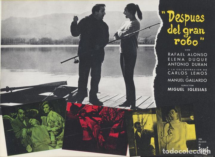 DESPUÉS DEL GRAN ROBO. GUÍA (22,5X30) (Cine - Guías Publicitarias de Películas )