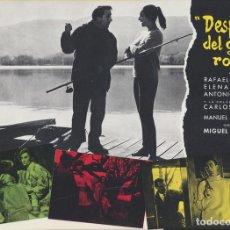 Cine: DESPUÉS DEL GRAN ROBO. GUÍA (22,5X30). Lote 169365725