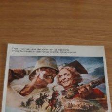 Cine: GUIA PUBLICIDAD EL HOMBRE QUE PUDO REINAR 1976. Lote 169429946