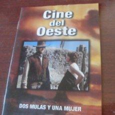 Cine: CUADERNILLO CINE DEL OESTE / DOS MULAS Y UNA MUJER - EASTWOOD MACLAINE -. Lote 170964245
