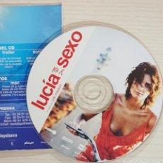 Cine: LUCÍA Y EL SEXO * CD DE PRENSA / MATERIAL ORIGINAL PARA MEDIOS * JULIO MEDEM. Lote 171972128