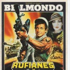 Cine: RUFIANES Y TRAMPOSOS. Lote 172035955