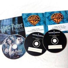 Cine: HARRY POTTER Y EL PRISIONERO DE AZKABAN * 3 CDS ORIGINALES DE PRENSA / MATERIAL PARA MEDIOS!. Lote 172063413