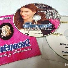Cine: MISS AGENTE ESPECIAL 2 ARMADA Y PELIGROSA *2 CDS ORIGINALES DE PRENSA/MATERIAL PARA MEDIOS S.BULLOCH. Lote 172076007