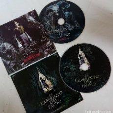 Cine: EL LABERINTO DEL FAUNO 2 CDS ORIGINALES DE PRENSA / MATERIAL PARA MEDIOS GUILLERMO DEL TORO. Lote 172085333
