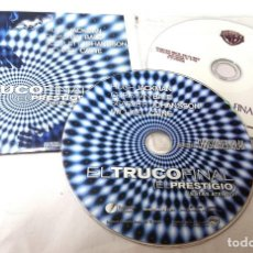 Cine: EL TRUCO FINAL (EL PRESTIGIO) 2 CDS ORIGINALES DE PRENSA / MATERIAL PARA MEDIOS · CHRISTOPHER NOLAN . Lote 172088529