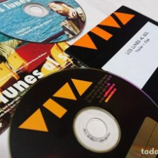 Cine: LOS LUNES AL SOL · 2 CDS ORIGINALES DE PRENSA / MATERIAL PARA MEDIOS . Lote 172106405