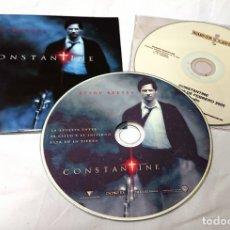 Cine: CONSTANTINE · KEANU REEVES · 2CDS ORIGINALES DE PRENSA / MATERIAL MEDIOS. Lote 172158653