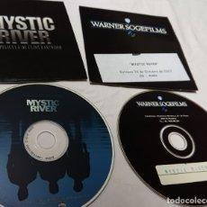 Cine: MYSTIC RIVER · CLINT EASTWOOD · 2CDS ORIGINALES DE PRENSA / MATERIAL MEDIOS. Lote 172162853