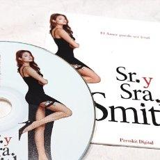 Cine: SR Y SRA SMITH CD ORIGINAL PRENSA / MATERIAL MEDIOS · ANGELINA JOLIE · BRAD PITT PRESSKIT DIGITAL . Lote 172176824