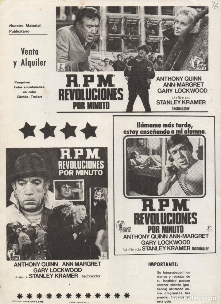 Cine: R.P.M. REVOLUCIONES POR MINUTO - Foto 4 - 172260775