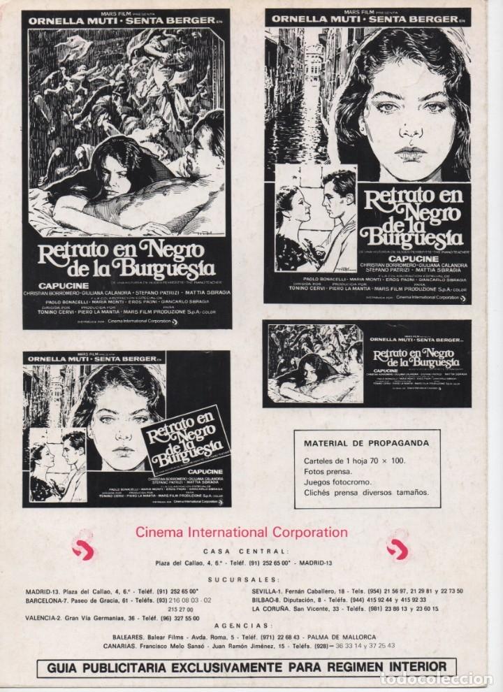 Cine: RETRATO EN NEGRO DE LA BURGUESÍA - Foto 4 - 172325794