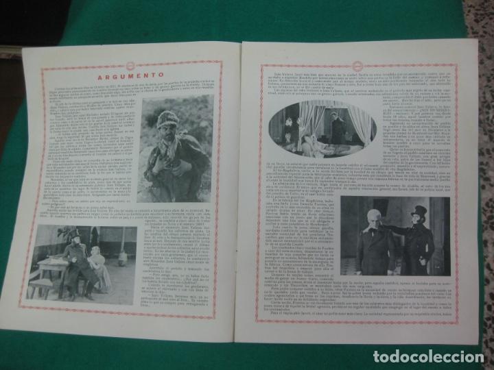 Cine: LOS MISERABLES. GUIA PUBLICITARIA DE LA PELICULA. GAUMONT - Foto 3 - 172551370