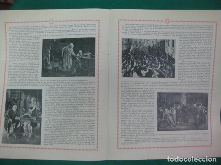 Cine: LOS MISERABLES. GUIA PUBLICITARIA DE LA PELICULA. GAUMONT - Foto 5 - 172551370