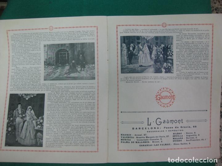 Cine: LOS MISERABLES. GUIA PUBLICITARIA DE LA PELICULA. GAUMONT - Foto 6 - 172551370