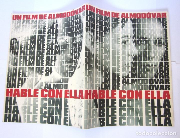 GUÍA PELÍCULA REVISTA ALMODÓVAR HABLE CON ELLA 2002 EL DESEO (Cine - Guías Publicitarias de Películas )