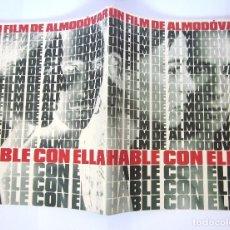 Cine: GUÍA PELÍCULA REVISTA ALMODÓVAR HABLE CON ELLA 2002 EL DESEO. Lote 172825820