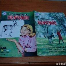 Cine: MARISOL. GUÍA ORIGINAL LA HISTORIA DE BIENVENIDO 2 HOJAS. 1964. EDITA HAUSER Y MENET. EST22B2. Lote 173591690