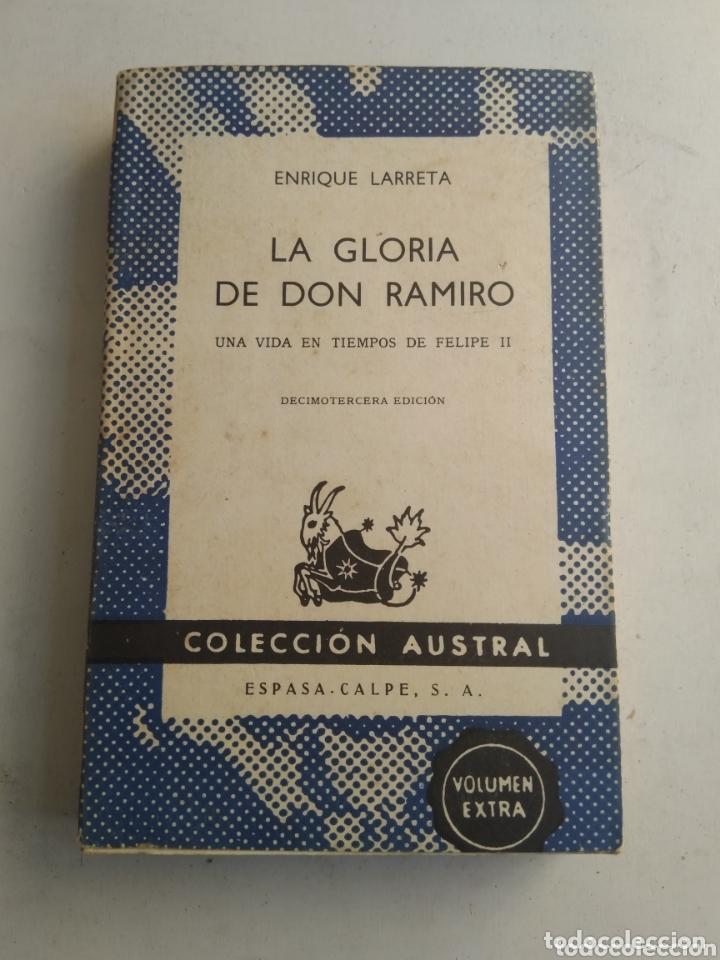 LA GLORIA DE DON RAMIRO/ENRIQUE LARRETA (Cine - Guías Publicitarias de Películas )