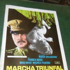 Cine: LA MARCHA TRIUNFAL - GUIA PUBLICITARIA - MARCO BELLOCCHIO, FRANCO NERO. Lote 174037738
