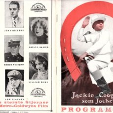 Cine: CINE MUDO - GUIA DANESA - GET YOUR HAIR CUT - 1927. Lote 174876584