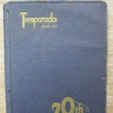 Cine: GUIA AGENDA PROGRAMACION 1936 / 1937 20TH CENTURY FOX TEMPORADA - SIMIL PIEL GUERRA CIVIL RARISIMA. Lote 174966690