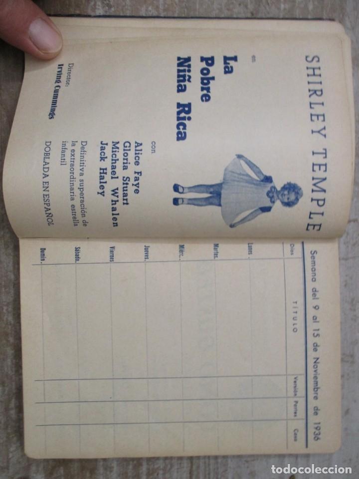 Cine: GUIA AGENDA PROGRAMACION 1936 / 1937 20th CENTURY FOX TEMPORADA - SIMIL PIEL GUERRA CIVIL RARISIMA - Foto 12 - 174966690