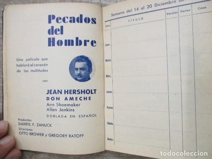Cine: GUIA AGENDA PROGRAMACION 1936 / 1937 20th CENTURY FOX TEMPORADA - SIMIL PIEL GUERRA CIVIL RARISIMA - Foto 17 - 174966690