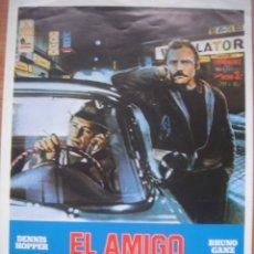 Cine: GUIA DE LA PELICULA EL AMIGO AMERICANO DE WIM WENDERS. Lote 176210995