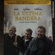 Cine: LA ULTIMA BANDERA - GUIA PUBLICITARIA ORIGINAL - STEVE CARELL BRYAN CRANSTON LAURENCE FISHBURNE . Lote 176676528