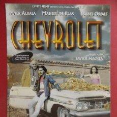 Cine: GUIA DE CINE - ORIGINAL - PELICULA, CHEVROLET - AÑO 1997...L360. Lote 277193118
