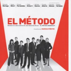 Cine: EL MÉTODO. Lote 177626858
