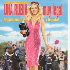Cine: UNA RUBIA MUY LEGAL. Lote 177632678